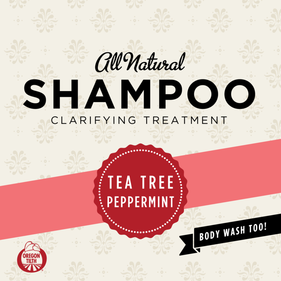 organic tea tree shampoo